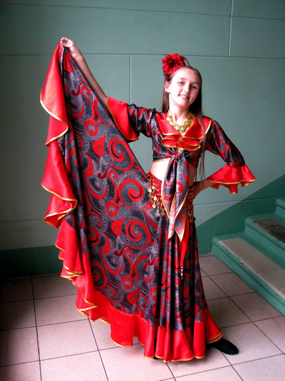 Цыганки костюм своими руками